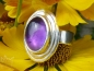 Preview: Ovaler Amethyst-Ring