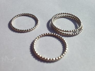 Kugelring Silber / 2 mm