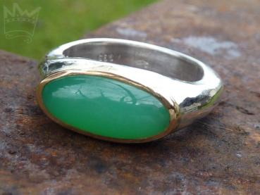 Chrysopras Ring