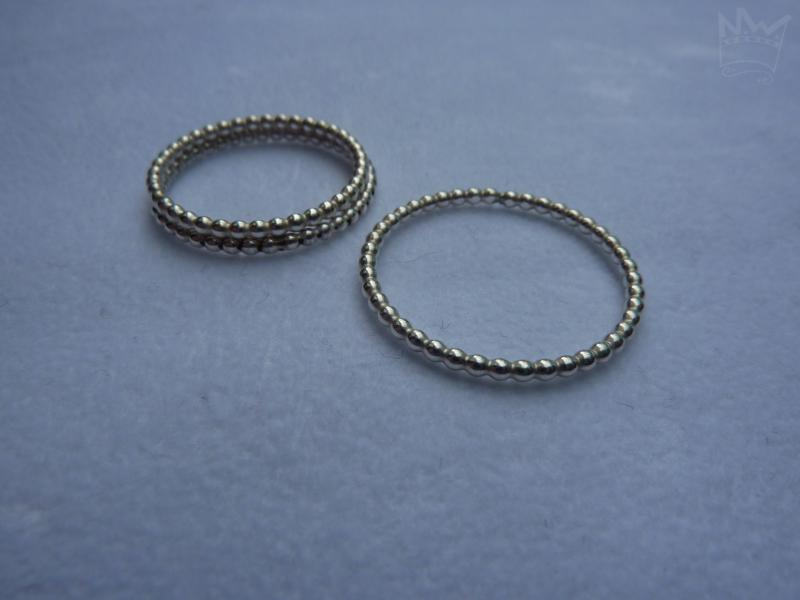 Kugelring Silber 1,5 mm